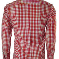 JTG Gingham Long sleeve-Red