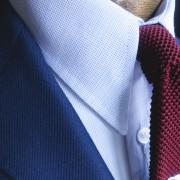 JTG Spearpoint collar Blue Dobby