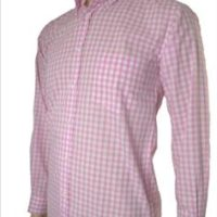 JTG Gingham long sleeve-Pink