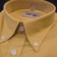 Plain Ochre JTG Button down LS