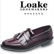 Loake Brighton Loafers Burgundy