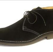 Loake Sahara Desert Boot Black