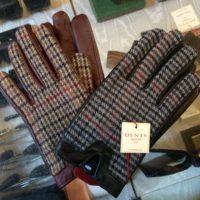 Dents Tweed Gloves