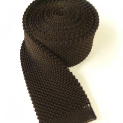Dark brown tie