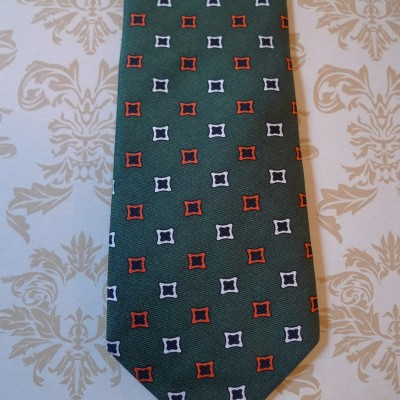 Silk Green diamond tie