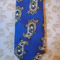 Silk Blue paisley