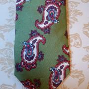 Silk Green paisley