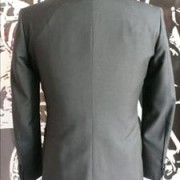Black Mohair tonic suit