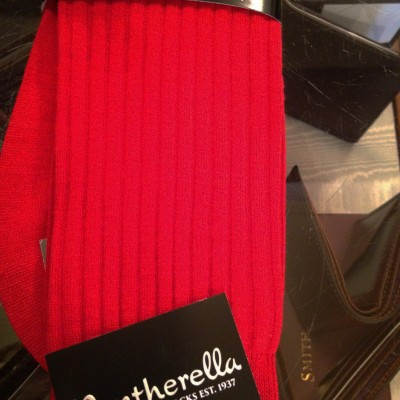 Pantherella Red Merino