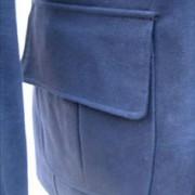 JTG Zip Coat-Navy