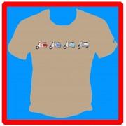 Four across t-shirt.