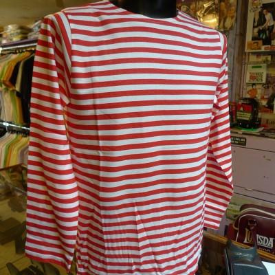 Breton L/S Red T