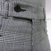 Prince of Wales Black & White Trouser