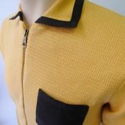 Aertex/JTG Long sleeve knit Ochre