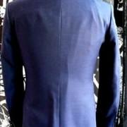 Navy Mohair Tonic suit