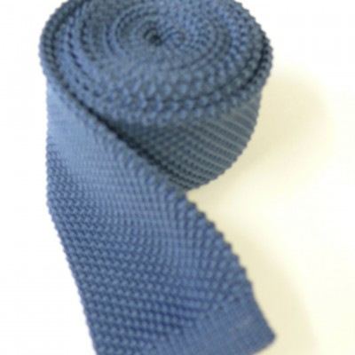 Steel knitted tie