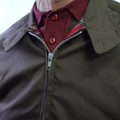 Harrington Brown Raglan