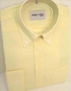 Plain Yellow JTG Button down