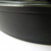 Black Leather belt -Narrow