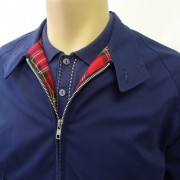 Harrington Navy Raglan