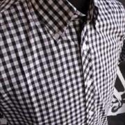 JTG Gingham Black Short sleeve