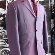 Two Tone Purple Tonic suit by JTG