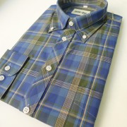 Blue/Green check 051 S/S