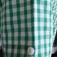 JTG Gingham Green Short sleeve