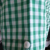 JTG Gingham Green Short sleeve