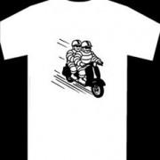 Tyre men T-shirt.
