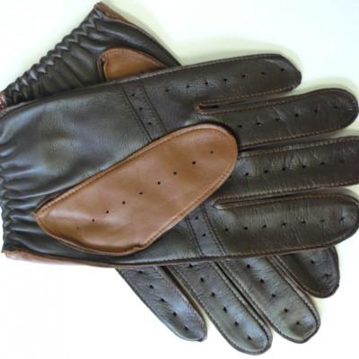 Dents driving glove Tan