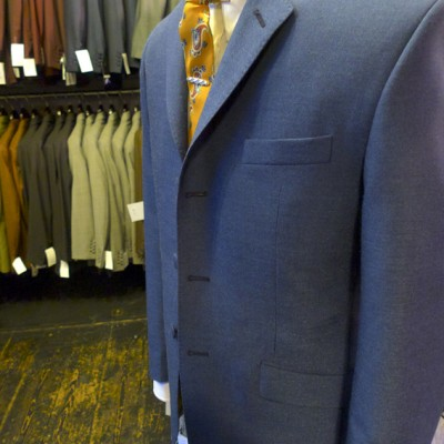 3 ply French Blue suit