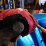 Dents driving glove Red