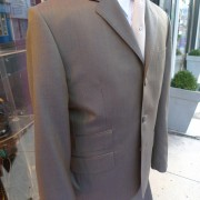 Two Tone Gold Tonic suit by JTG