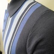 JTG Royal stripe polo S/S