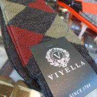 Viyella Charcoal Argyle