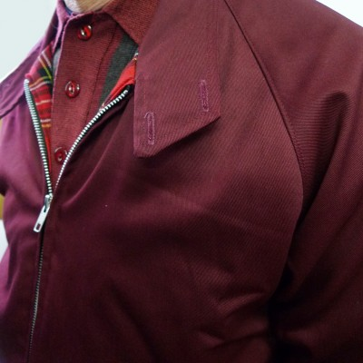 Harrington Burgundy Raglan