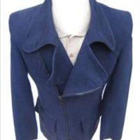 JTG Zip Coat-Navy