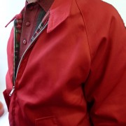 Harrington Red Raglan