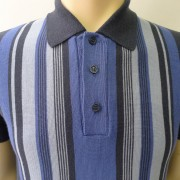 JTG Royal stripe polo S/S