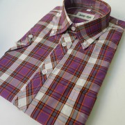 Purple Bright check 057 l/s