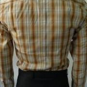 JTG Tan Red stripe L/s