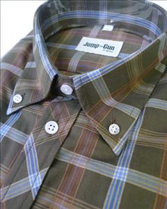 Green& Sky s/s check 050