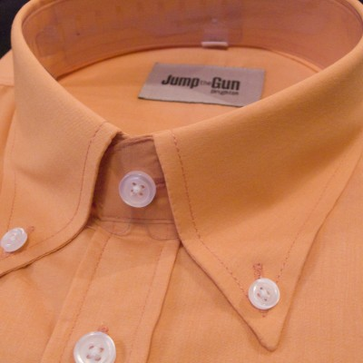 Plain Orange button down SS