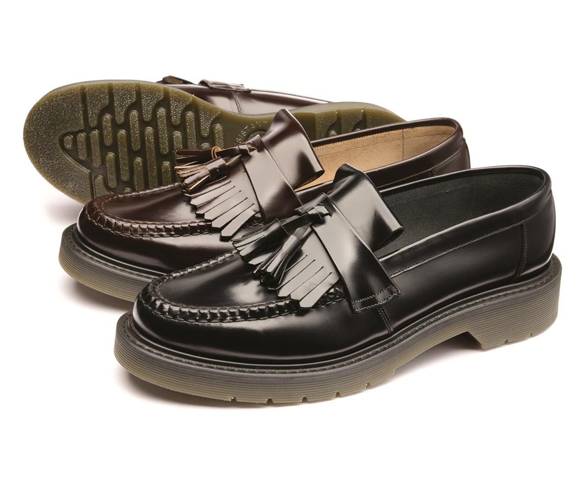 b3af5be08a2 Loake tassle Loafers Black