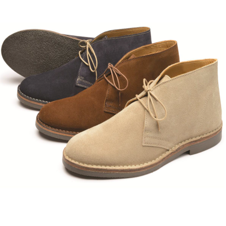 Loake Sahara Desert Boot Brown - Jump