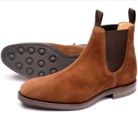Loake Chatsworth Brown Suede